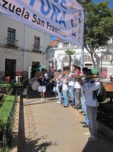 Book fair in Sucre