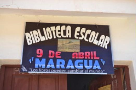 Biblioteca escolar de Maragua