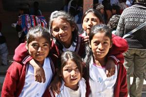 Kids in Bolivia