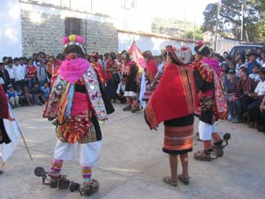 """The traditional dance of """"Pujllay"""", which means """"play"""" in Quechua, the indigenous language of the Incas."""